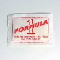 Bustina di zucchero snack bar Formula 1