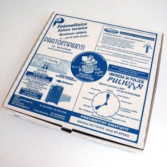 Porta pizza sponsorizzato per Prato e Firenze