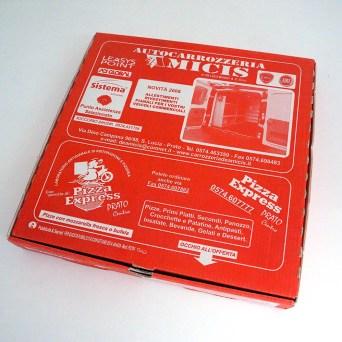 Porta pizza sponsorizzato per Prato