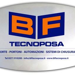 Targhetta in plexiglass - BF Tecnoposa