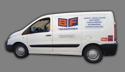 Fiat Scudo - Prespaziati PVC per BF Tecnoposa