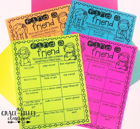 Back to school freebie to help students get to know each other.