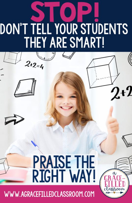 praising students, growth mindset