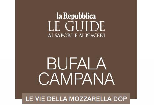 """""""Bufala Campana"""", la prima Guida alla scoperta delle vie della Mozzarella Dop"""