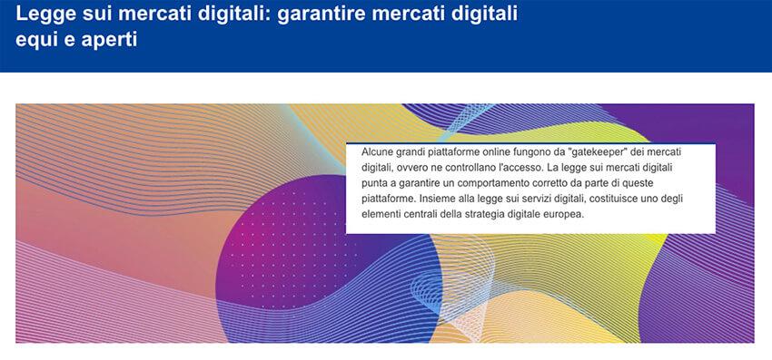 Digital Markets e Digital Services Act: dalla Ue una rivoluzione per l'online