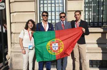 Cerimónia de encerramento da 51ª edição das Olimpíadas Internacionais de Química (ICHO)