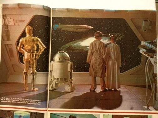 Fantastic Films Magazine showed the final version