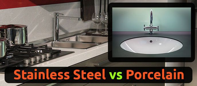 Stainless Steel Sink vs Porcelain