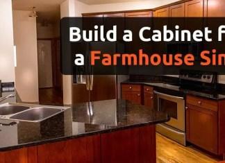 Hоw tо Build a Cabinet fоr a Fаrmhоuѕе Sink
