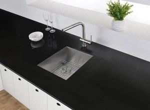 Ruvati 14-inch Undermount 16 Gauge Zero Raduis Bar Prep Kitchen Sink Stainless Steel Single Bowl