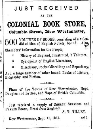(British Columbian, September 19, 1861)