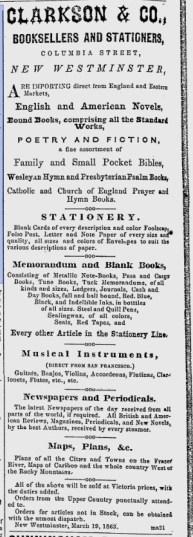 (British Columbian, August 19, 1863)