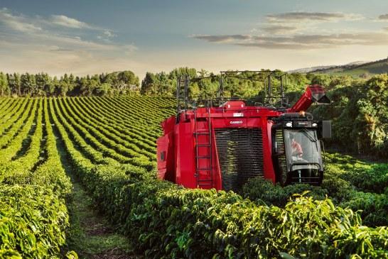 Case IH introduit l'expérience de la récolte de café en Afrique avec sa récolteuse Coffee Express 200 Multi