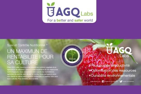 AGQ Labs: partenaire pour une bonne gestion de la nutrition des cultures