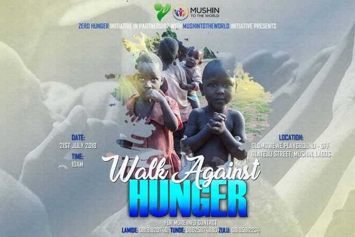 Local Organization in Nigeria, MushinToTheWorld Walk Against Hunger 1