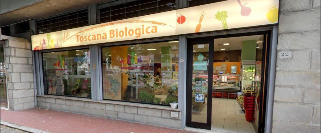 Il punto vendita di Toscana biologica a Firenze