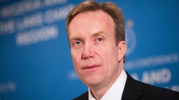 Børge Brende è il Presidente del Wef