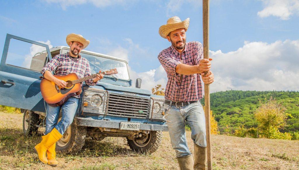 Il gruppo musicale e contadino dei Duova