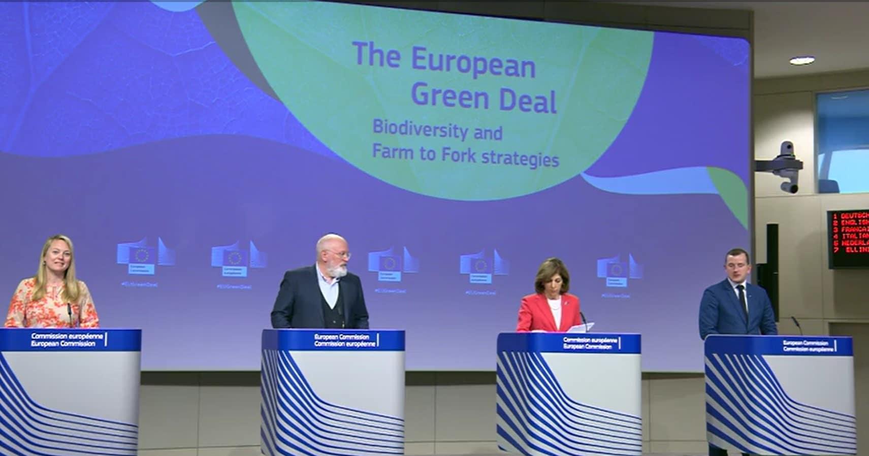 L'Europa con la Farm to fork nel solco della bioagricoltura