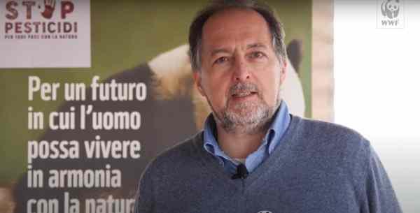 Franco Ferroni, responsabile per l'agricoltura e la biodiversità il Wwf