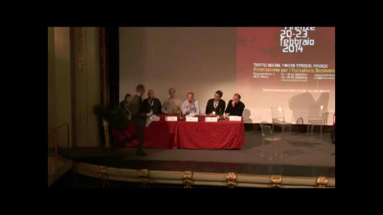 L'intervento di Aldo Paravicini al 32° Convegno internazionale di biodinamica