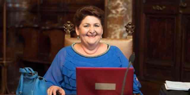 La Ministra dell'Agricoltura Teresa Bellanova