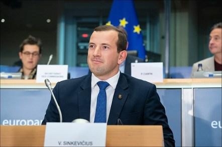Virginijus Sinkevičius, commissario per l'Ambiente e gli Oceani dellaCommissione Europea