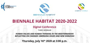 Biennale Habitat World 2020-2022. Conferenza digitale 16 luglio