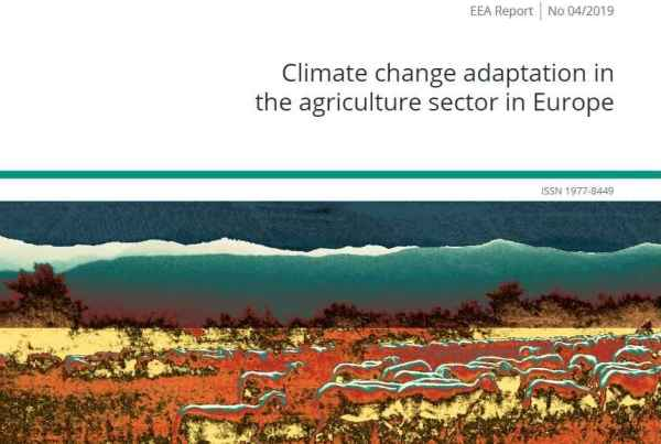 Climate change adaptation in the agriculture sector in Europe1994-2019EEA Report No 04/2019