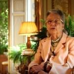 Giulia Maria Crespi, presidente onorario dell'Associazione per l'agricoltura biodinamica e Fai
