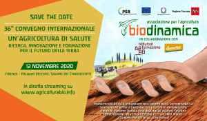 36° Convegno internazionale di agricoltura biodinamica 12 Novembre 2020
