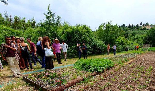 Una giornata con il pubblico all'orto bioattivo