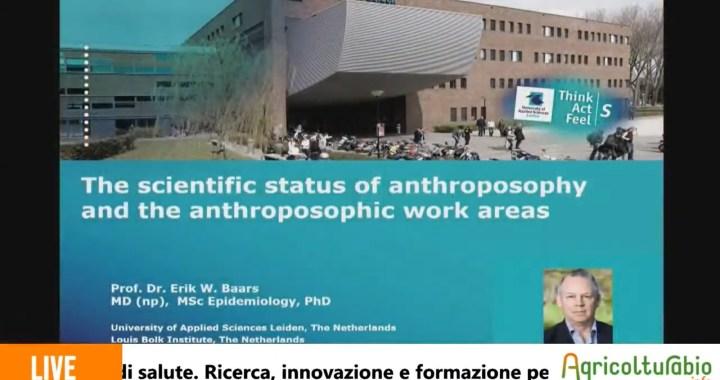 Erik Baars: «L'antroposofia è la scienza del futuro»