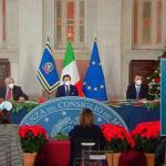 Conferenza stampa di fine anno del Presidente del Consiglio, Giuseppe Conte