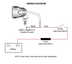 ACI OffRoad LED Lights | Instructions and Wiring Diagram