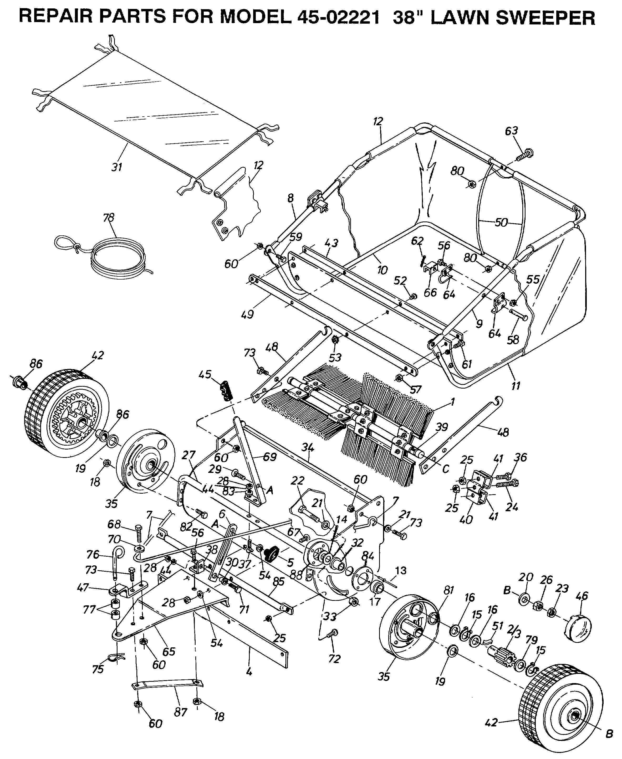 Manure Spreader Parts