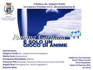invito-Romina-Caruana-Porto-Empedocle