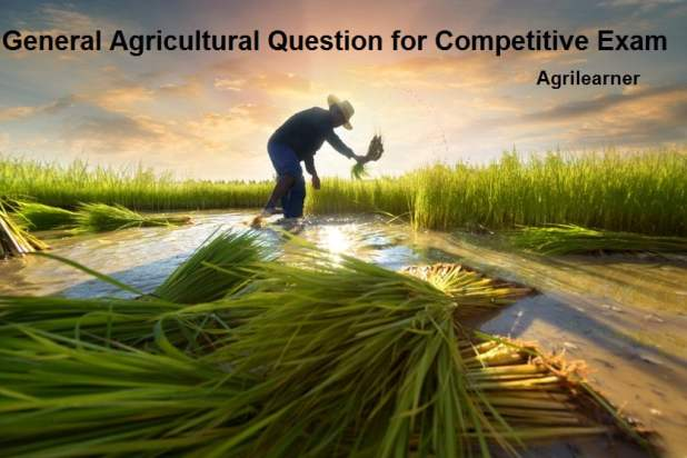 General Agricultural Question