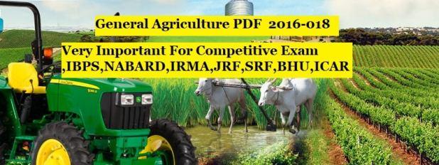 General Agriculture PDF