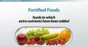 Food fertification