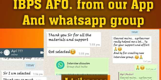 Our Achievement Join Us On What'sapp - Agri learner
