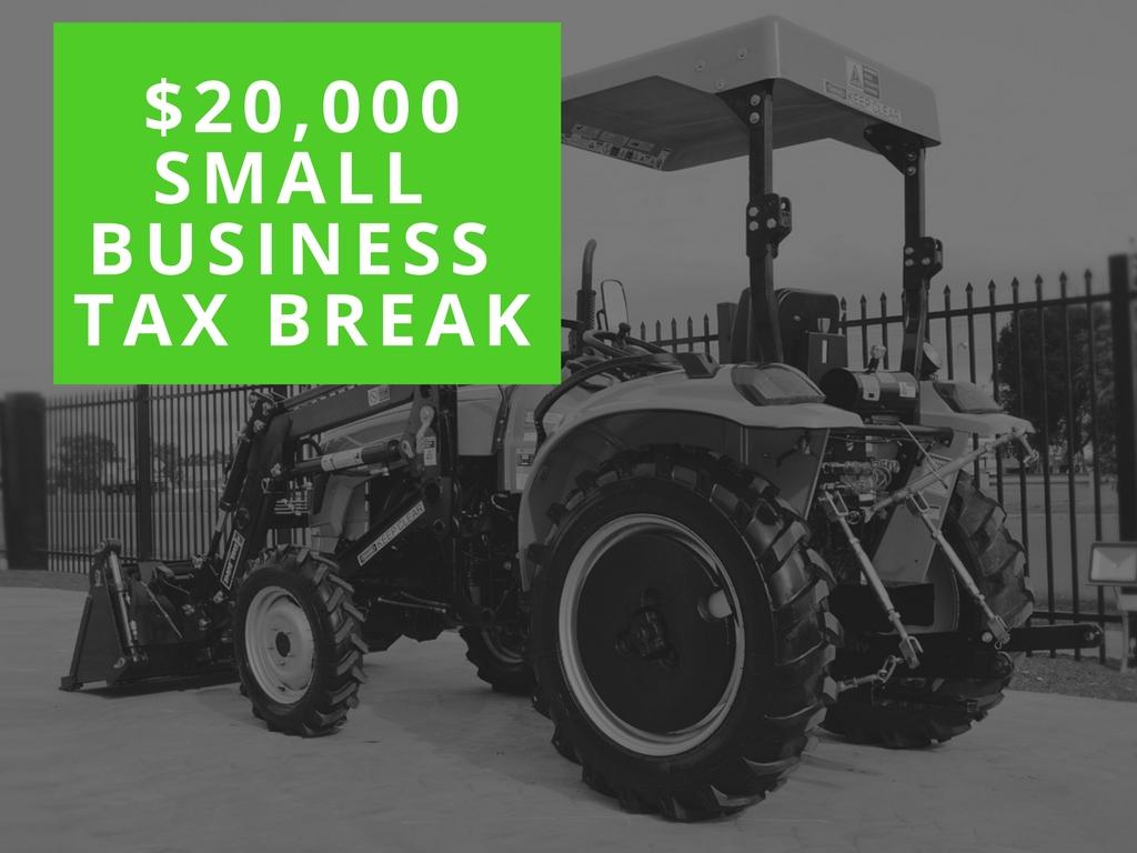 20 000 Tax Write Off