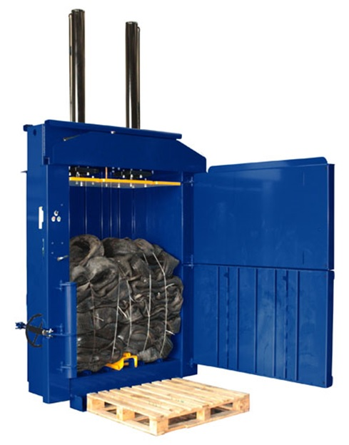 Ag-mac V550HD Tyre Baler