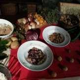Il Ristorante - Gnocchi di Castagne con Radicchio e Funghi