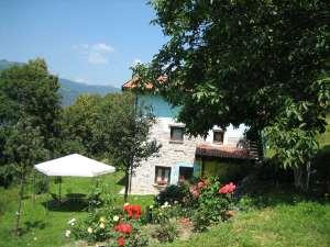 L'Agriturismo Al-Marnich - Vista Gazebo Secondo Casale