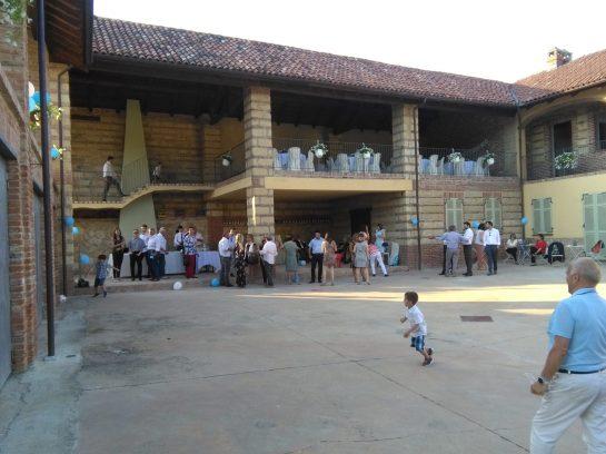Battesimo alla Cascina Airale