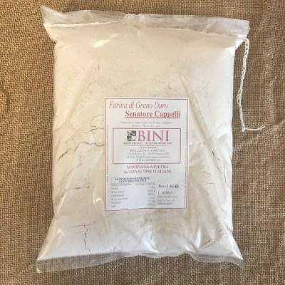 FAR006 - Farina di grano duro Senator Cappelli - PRODOTTI AGRITURISMO BINI