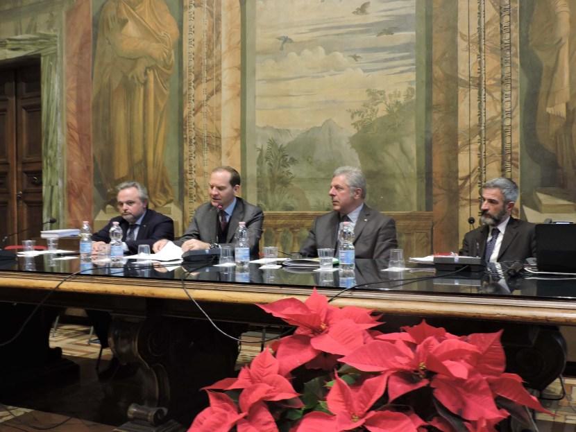 Agronetwork Donato Rossi, Massimiliano Giansanti, Daniele Rossi, Massimo Sabatini