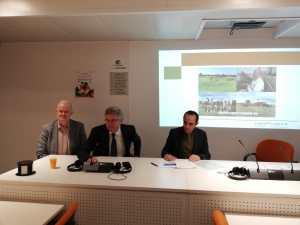 Presidenza gruppo ricerca e innovazione COPA-COGECA: Juan Sagarna vice, Daniele Rossi (Agronetwork) presidente, Kjell Ivarsson vice