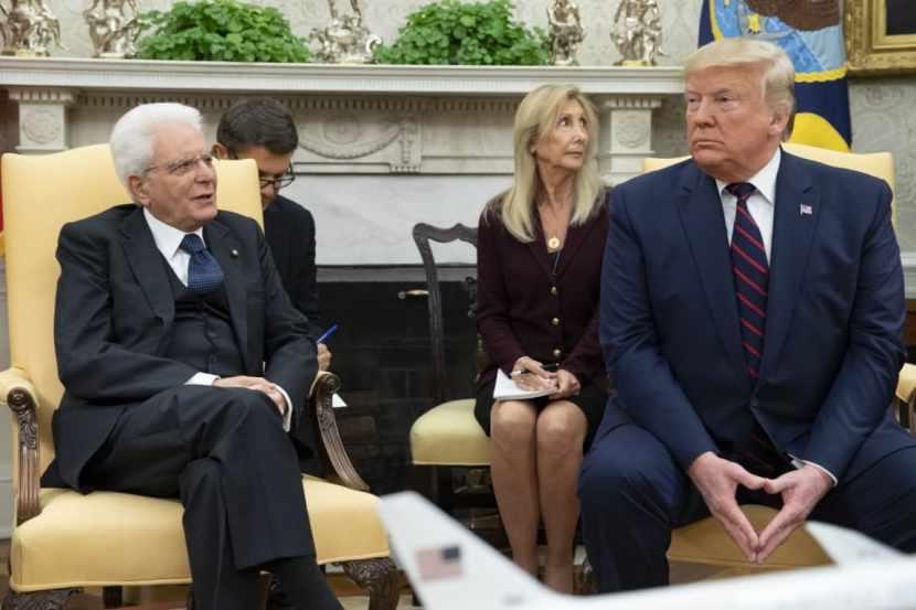 Sostenere i progetti di sviluppo agroindustriale AgroNetwork News - Trump colloqui Presidente Mattarella
